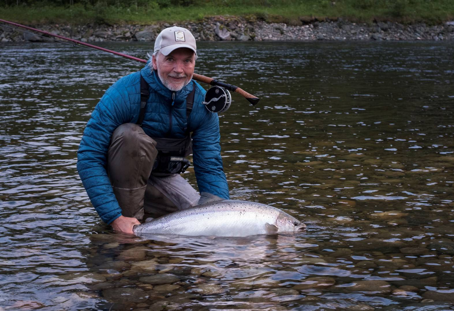 Henrik Mortensen with fish Nr. 1