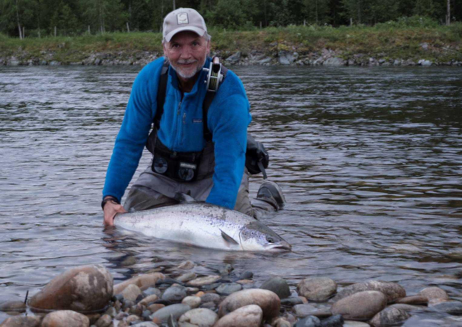 Henrik with his 2nd fish of about 11kg