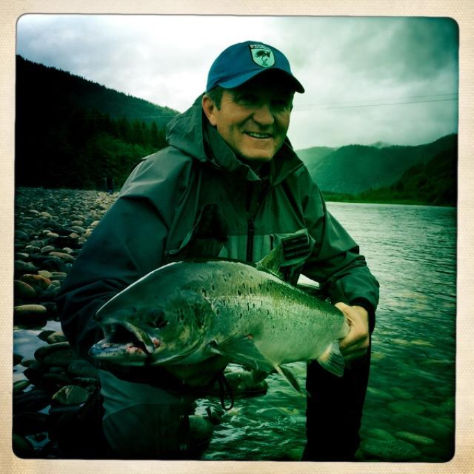 Francois Deloup and his fish of 6,5kg from A1.