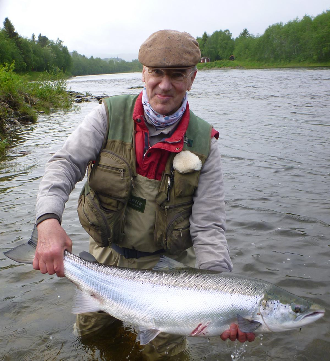 Manfred and his fish from Beat L1 of about 8kg.